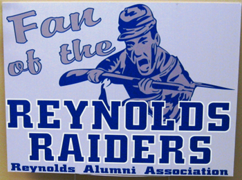 Reynolds Raider Lawn Signs