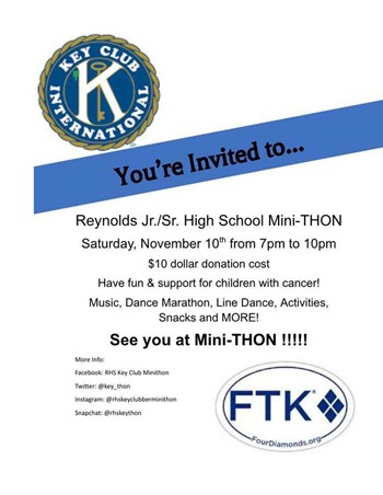Key Club Mini-Thon 11/10/2018