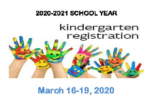 2020-21 KINDERGARTEN REGISTRATION