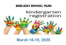 2020-21 KINDERGARTEN REGISTRATION