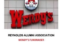 RHS Alumni Asso. Wendy's Fundraiser