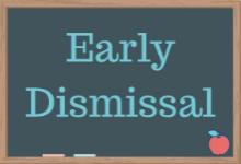 Early Dismissal Letter