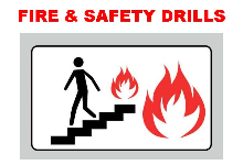 NOTICE: Building Fire & Security Drills