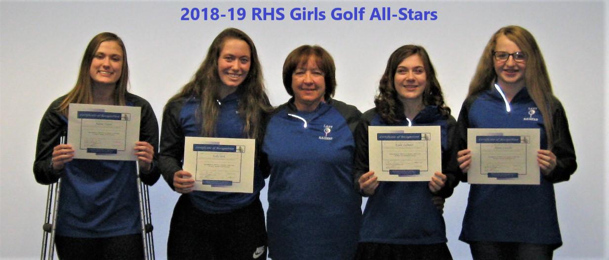 girls golf all stars