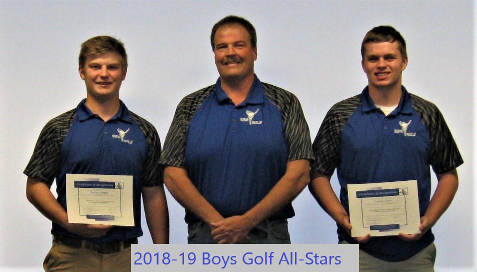 boys golf all stars