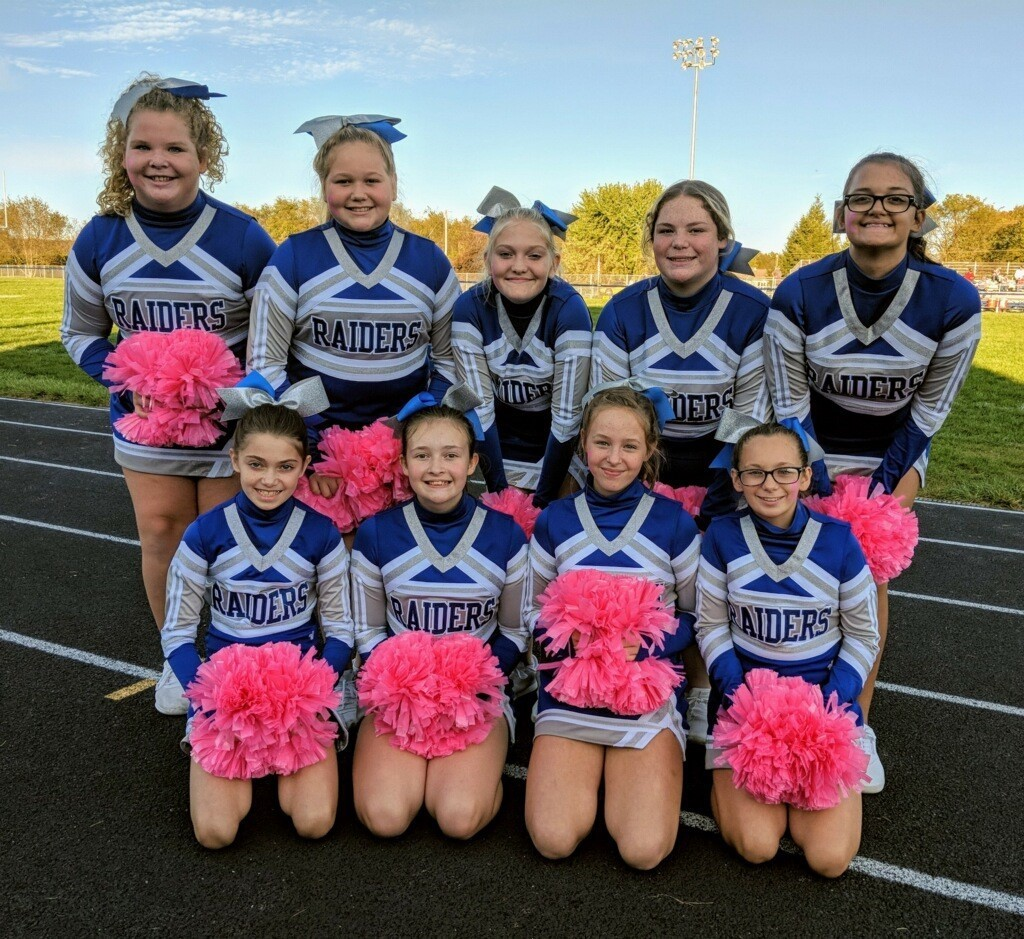 jr. hi cheerleaders